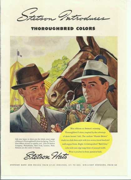 Stetson Hat Thoroughbr (1938)