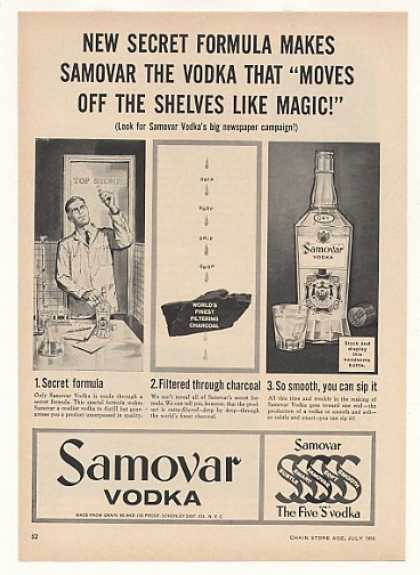 Samovar Vodka Secret Formula (1958)