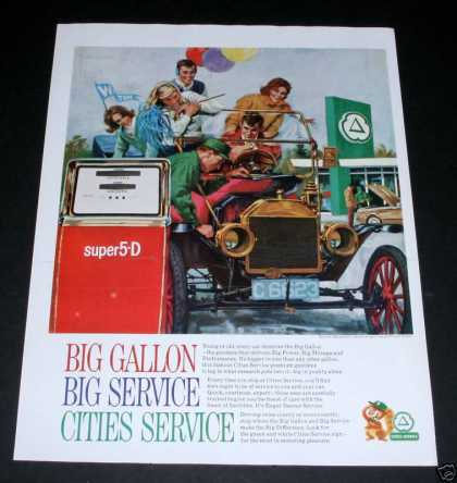 Cities Service Gas, Super 5-d (1964)