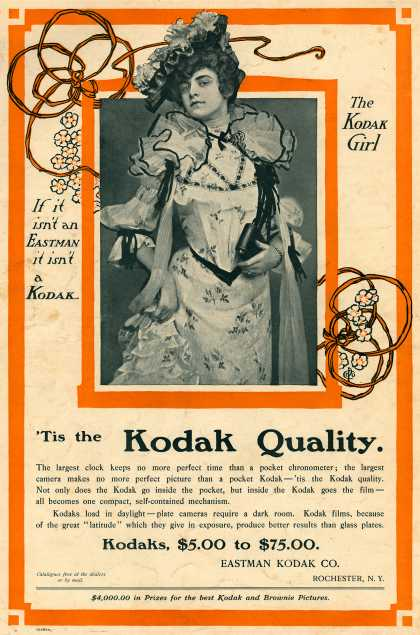 Kodak – Tis the Kodak Quality