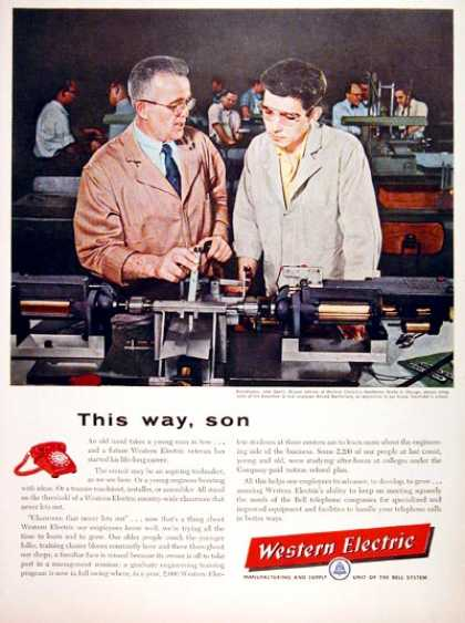 Western Electric Apprentice (1957)