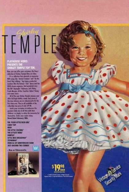 Shirley Temple Playhouse Video Top Ten (1988)