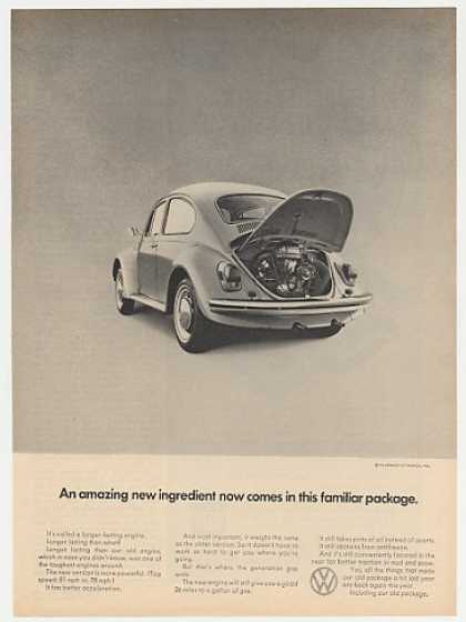 VW Volkswagen Beetle Bug Amazing New Ingredient (1969)
