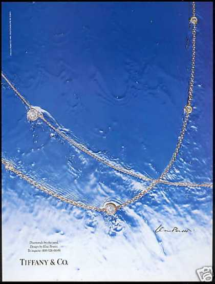 Elsa Peretti Diamond Jewelry Photo Tiffany & Co (1993)
