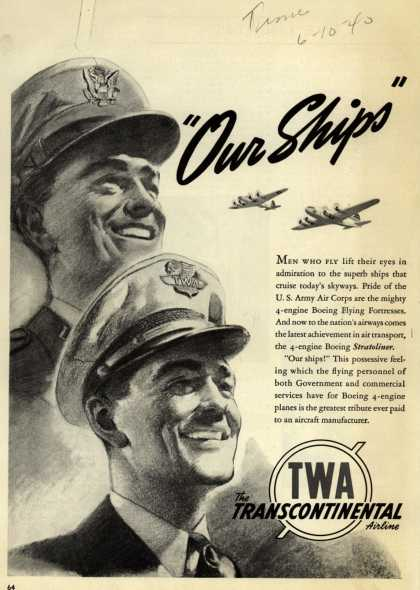 Trans World Airline – Our Ships (1940)