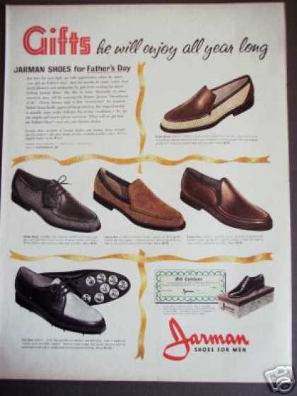 Golf Shoes for Men Jarman Fathers Day (1962)