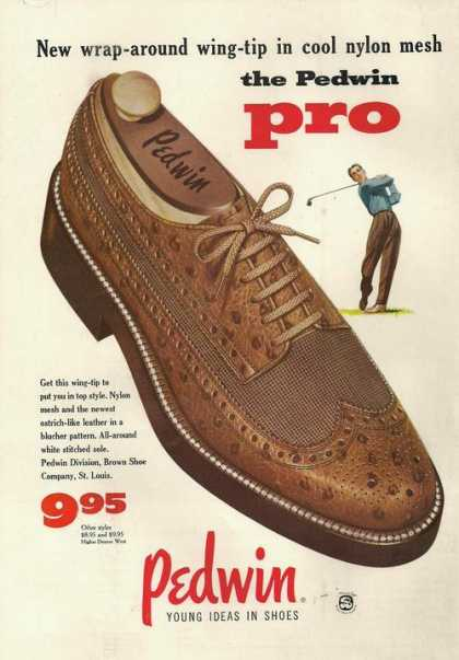 Pedwin Pro Mens Dress Shoes (1955)