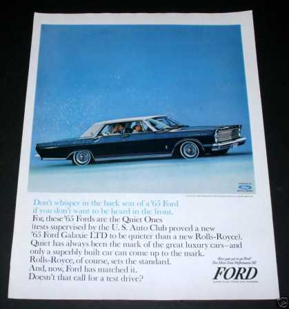 Ford Galaxie Ltd 500 Hardtop (1964)