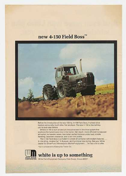 White 4-150 Field Boss 4-Wheel-Drive Tractor (1974)