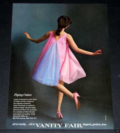 Old , Vanity Fair, Lingerie, Pink (1964)