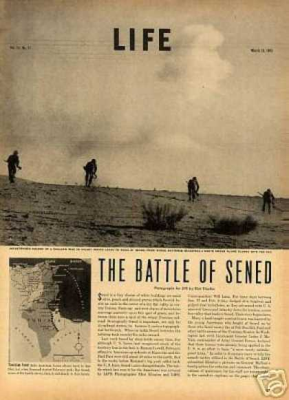 """The Battle of Sened"" ~~7 Page Article (1943)"