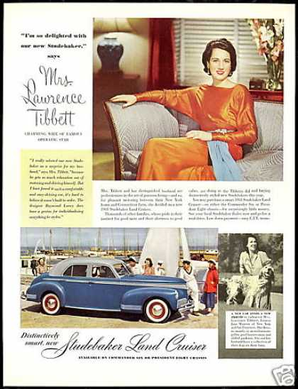 Studebaker Land Cruiser Mrs Lawrence Tibbett (1941)