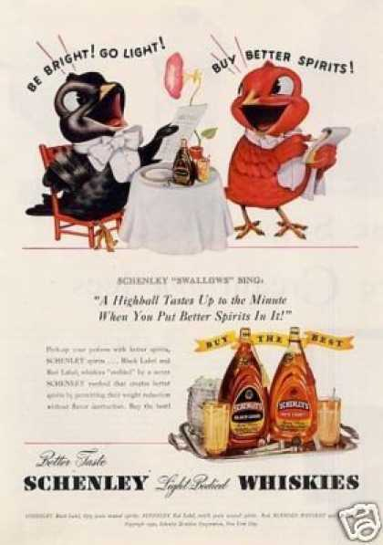 Schenley Whiskey (1940)