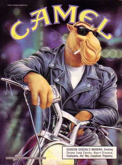 Camels Cigarettes Joe Camel – Motorcycle (1991)