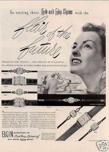 Elgin Watches (1950)
