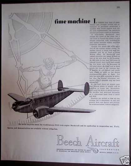 Beech Aircraft D18s Twin Engine Airplane (1946)