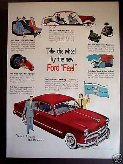 "Ford With ""Mid Ship"" Ride Car (1949)"