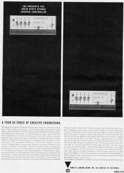 James B. Lansing's JBL Solid State Equalizer (1964)