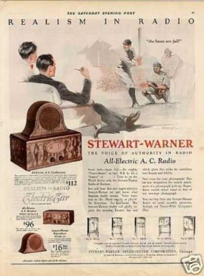 Stewart-warner Radio Color (1928)