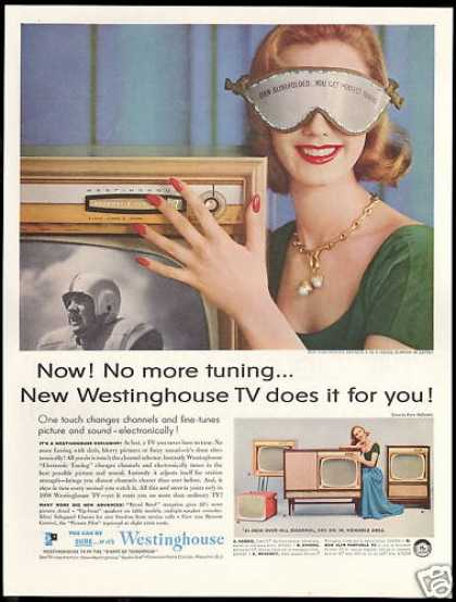 Westinghouse TV Television Electric Tuning (1957)
