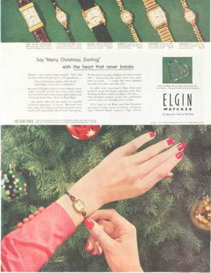Lady Lord Elgin Sedalia Watch 7 Models (1952)