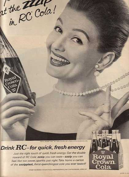 Royal Crown Cola's RC Cola (1965)