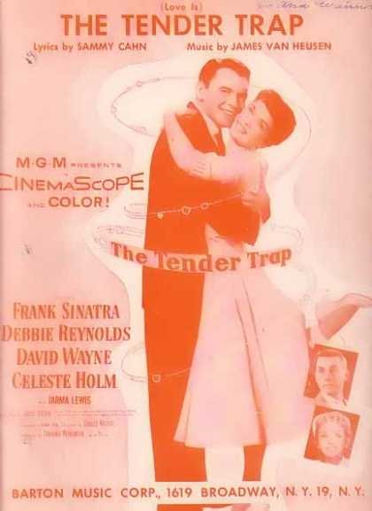 The Tender Trap – Frank Sinatra Movie Sheet Music (1955)