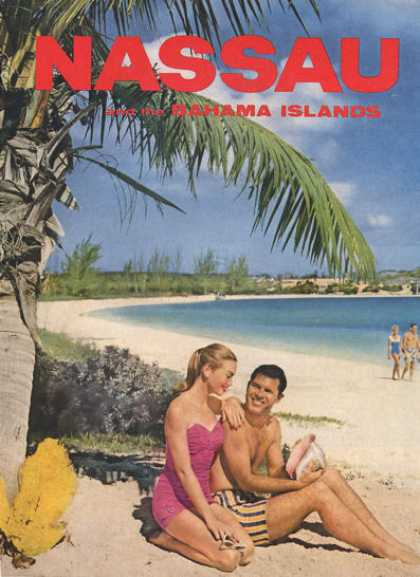 Nassau Bahama Islands Beach Shell (1957)