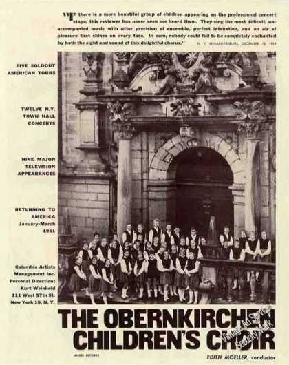 The Obernkirchen Childrens Choir Photo Trade (1960)