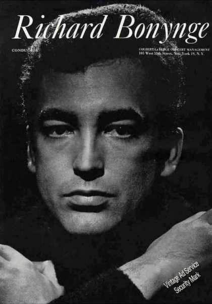 Richard Bonynge Photo Conductor Trade (1962)