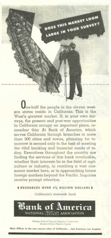 Bank of America California Market (1945)