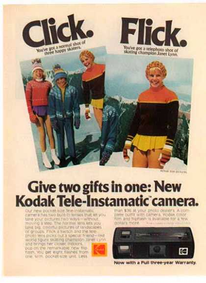 Kodak Tele-Instamatic Camera – Sold (1975)