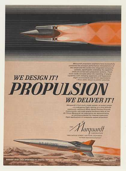 Marquardt Propulsion US Air Force Rocket Ramjet (1967)