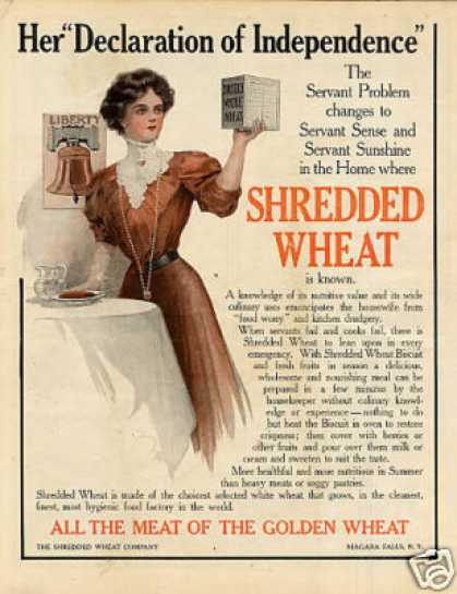 Shredded Wheat Color (1909)
