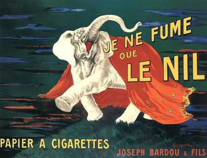 Le Nil &#8211; Leonetto Cappiello &#8211; Francia (1912)