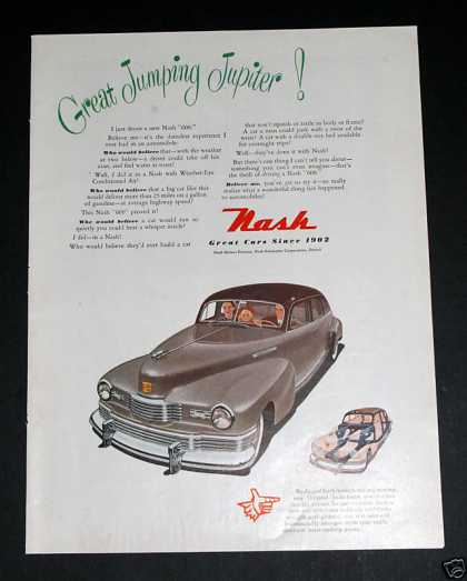 "Vintage, Nash 600 ""Great Cars Since 1902"" (1948)"