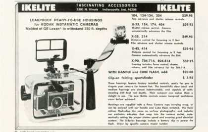 Ikelite Underwater Camera Housing Ad T (1971)