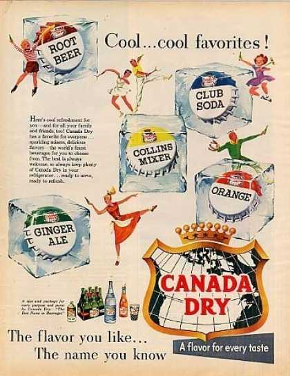 Canada Dry Beverage (1955)