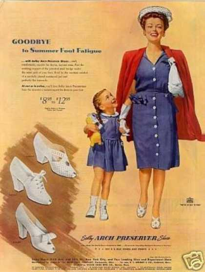 Selby Arch Preserver Shoes (1944)