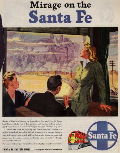 Santa Fe System Lines – Mirage on the Santa Fe (1946)