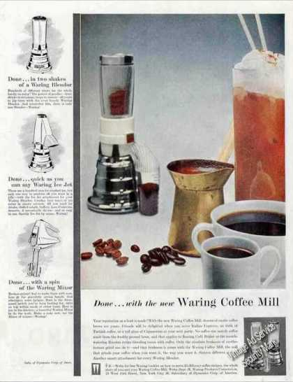 Waring Coffee Mill Appliance (1957)