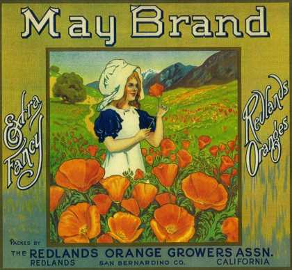 May Orange Label – Redlands, CA