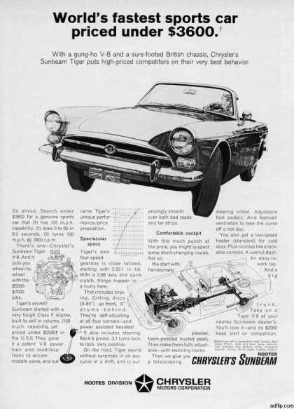 Chrysler's Sunbeam Tiger (1966)