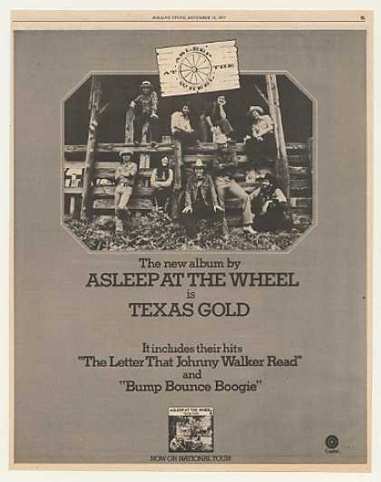 Asleep At The Wheel Texas Gold Photo (1975)