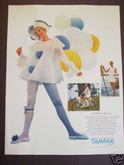 White Stag Fashion Woman Tampax (1968)