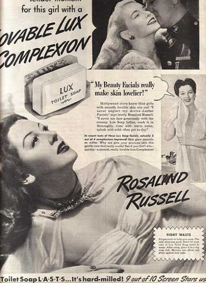 Toilet Soap – Lux (1944)