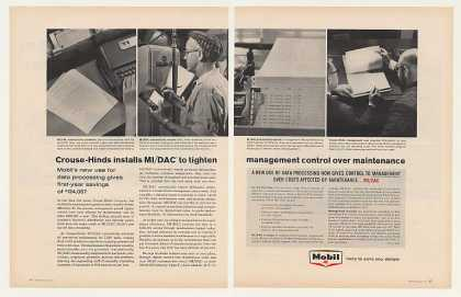 Crouse-Hinds Mobil MI/DAC Data Processing (1963)
