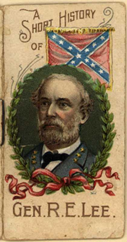 W. Duke Sons & Co.'s Duke's Cigarettes – A Short History Of Gen. R. E. Lee (1888)