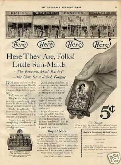 Sun-maid Raisins (1921)