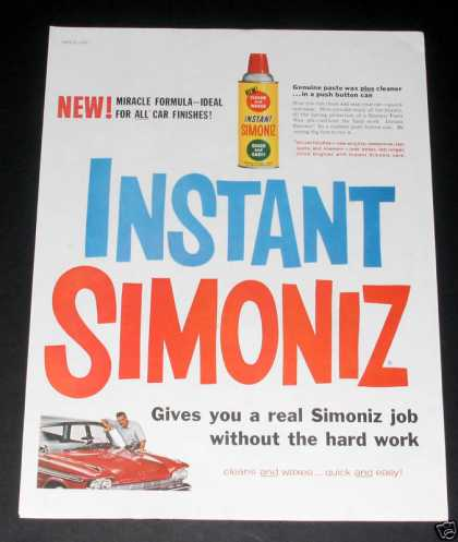 Simoniz Wax, Red Desota (1959)